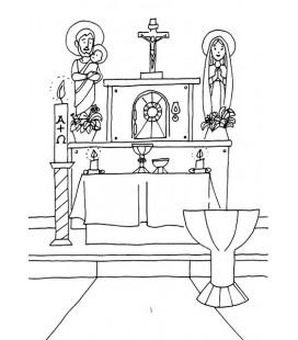Dibujos Para Colorear Editorial Familia De Jesús